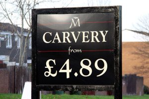 Madebrook Carvery - Available daily from £4.89