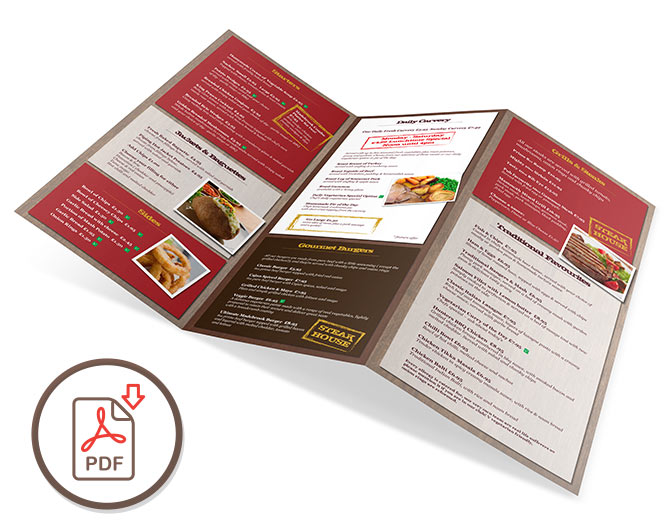 The Madebrook Carvery - Standard Menu