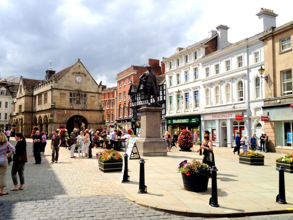 Shrewsbury Town Centre