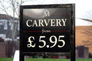 Madebrook Carvery - Available daily from £5.95